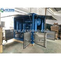 China Weather Proof Type Double Stage High Vacuum Transformer Oil Purifier Machine 9000Liters/Hour wholesale