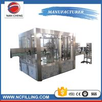 China Automatic carbonated beverage drink water filling machine germany wholesale
