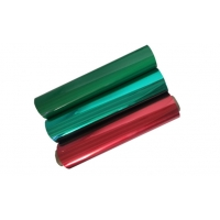 China Sequin Laser Metalized BOPP Film Rolls , Red Heat Sealable BOPP Film wholesale