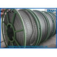 China 658kN T29 Structure Anti Twist Wire Rope Galvanized Steel Rope 30mm Breakage on sale
