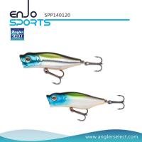 China Angler Select Top Water Surface Popper Fishing Lure with Vmc Treble Hooks (SPP140120) wholesale