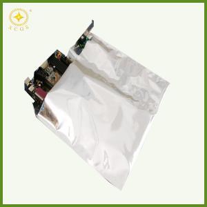 China mall aluminum foil zip lock bags aluminum foil laminated bag for electronics wholesale