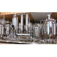 China Sanitary Thermal Circumfluence Herb Extraction Equipment Concentration Unit Hemp Oil on sale