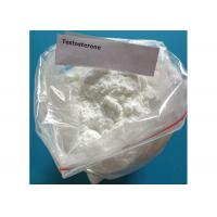 China Muscle Growth Testosterone Base Raw Powder White Crystalline Odourless Solid wholesale