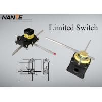 China Yellow Position ( Rotation Angle ) Limited Switch For Complex Cranes And Lifting Hoists wholesale