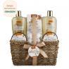China 250ml 300ml Beauty Bath Gift Sets Moisturizing Feature Customized Logo wholesale
