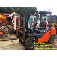China Hydraulic Systems Used Diesel Forklift Truck Good Working Condition wholesale
