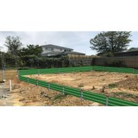 China Hot dip Galvanized  Steel Retaining  steel  Wall & Fence with Installing Service wholesale
