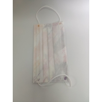 China 50pcs disposable mask, 3 layers with elastic earrings, 3 layers of safety dust mask, fancy soft mask wholesale