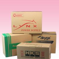 China custom strong kraft corrugated paper mailing boxes company order post box wholesale