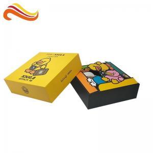 China Hard Cardboard Packaging Box Gloss / Matt Lamination With Lid Printing Riddles Book on sale