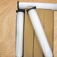 China 150gsm Enhanced Adhesive Synthetic Paper , Inkjet Printing White Banner Paper Roll wholesale