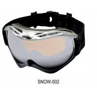 China Doule Lenses Sporting Goggles 100% Anti-Uv Fog Free Sport Goggles With 3m Glue wholesale