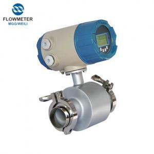MGG Sanitary Electromagnetic flowmeter,Stainless Steel Sanitary Electromagnetic flowmeter China, Food Industry Flowmeter