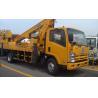 China Operating Radius 7.6m Boom Lift Truck XZJ5067JGK For Aerial Work wholesale