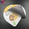 China Food Grade Aluminium foil sealing lids for yogurt packaging,yogurt cup sealing aluminium lids wholesale