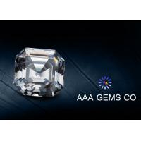 China Synthetic Jewelry Asscher Cut Moissanite 4 Carat Marquise Moissanite wholesale