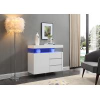 China Contemporary Style High Height Sideboard With Led light / Three Drawer wholesale
