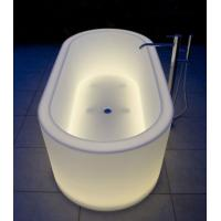 Buy cheap Swimming pool products plastic LED glow bath from wholesalers