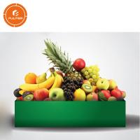 China Special custom gold label luxury solid fruit box banana/apple/pineapple wholesale