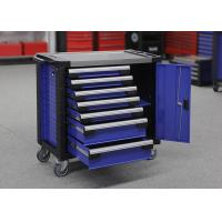 China Large Heavy Duty Garage Storage Tools Cabinets On Wheels With Door wholesale