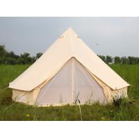 Buy cheap Luxury Outdoor Canvas Tent Zip Up Tent Yurt Tents /  Bell Tents for Camping from wholesalers