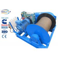 China Electronic Control Power Line Stringing Equipment Slow Speed Winch Lifting Road Bridge Installation wholesale