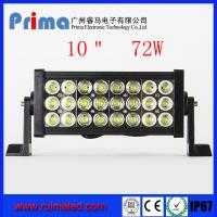 """Buy cheap 13"""" 72W Led Light Bar! Three Row Led Light Bar For Jeep 4X4 SUV from wholesalers"""