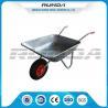 China Industrail Heavy Duty Wheelbarrow 7 CUB , Garden Wheel CartGalvanized Color wholesale