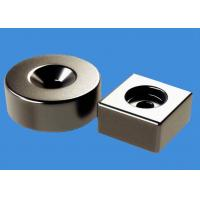 China Customized Ring Magnets Block Magnets 20 mm Countersunk Hole Magnets wholesale