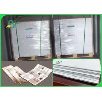 China Size Customized No Fluorescent Additives 60 70 Gsm Wood Pulp Offset Paper wholesale
