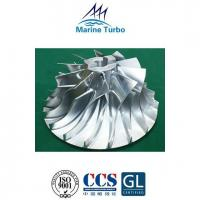 China T- NA Series Turbo Compressor Impeller For T- MAN Engine Turbocharger Spares wholesale