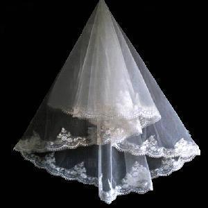 China Three-Tier Wedding Bridal Veil wholesale