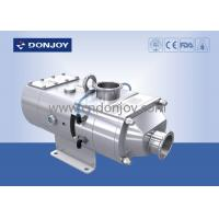 Buy cheap 316L Sanitary Screw High Pressure Pumps Electric Operated Apply For CIP / SIP from wholesalers