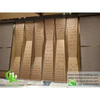 China External Insulated Aluminum Painting Panels Commercial Building Cladding wholesale