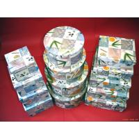 China Recycled Cardboard Gift Boxes , Rectangle / Square / Circular paper box wholesale