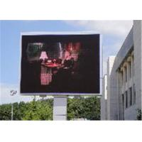 China Weatherproof Outdoor SMD Led Screen For Advertising  110-220v Rgb Led Panel Energy Saving wholesale