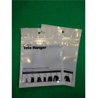 China Professional Powder Puff Flat Bottom Bags , Resealable Zip Lock Plastic Bags wholesale
