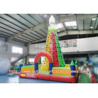 China Strong Kids Inflatable Climbing Wall , Inflatable Rock Climbing Wall For Backyard wholesale