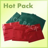 China Resealable Aluminium Foil Sachets / Bags For Pharmaceutical And Medical Packaging on sale
