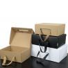 China Luxury Custom Printing Packaging Paper Gift Box Handle Corrugated Box wholesale