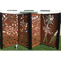China High Strength Laser Cut Metal Screens For Decoration On Garden Sculpture wholesale
