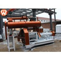 China High Capacity Floating Fish Feed Plant 1.8T/H With 0.4-0.8MPa Steam Boiler on sale