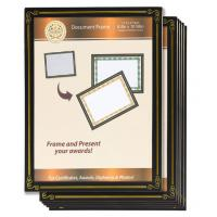China 6 Packs 8.5x11 Certificate Document Frame , Paper / Plastic Award Certificate Frames wholesale