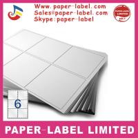 China Label Dimensions: 105mm x 99mm A4 labels wholesale