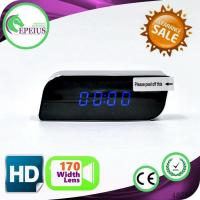 China 30fps Ep701 Multi - Function Spy Wifi Camera Clock With H.264 Dual Stream wholesale