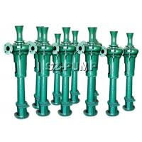 China Mining Sludge Industrial Vertical Submerged Pump With Packing Seal 11 - 200kw wholesale
