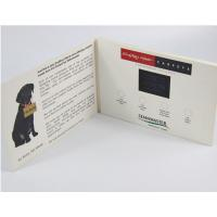 China Electronic Gifts Lcd Video Postcard With 10.1 Inch Screen / Lcd Video Booklet wholesale