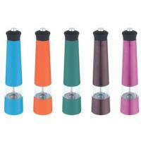 China Red, yellow or green Stainless Steel Pepper Mill, family mini grinder wholesale