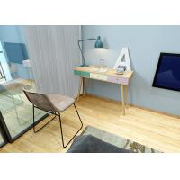China 1.1 Meters Length Wooden Comtemporary Writing Desk E1 Board With Three Drawer wholesale